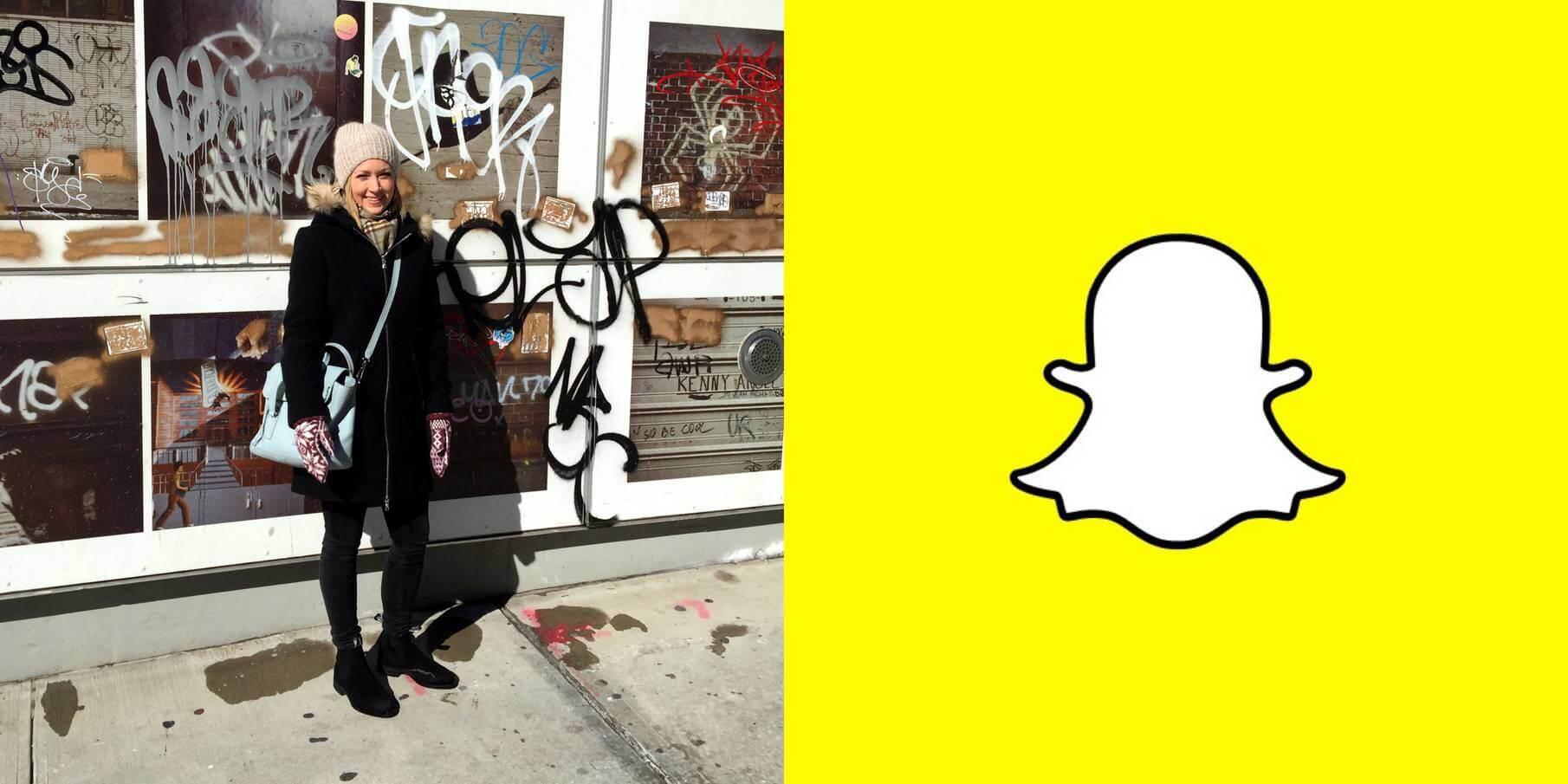 Strikkere på Snapchat